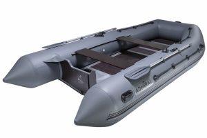 Лодка ПВХ Адмирал 410 надувная под мотор