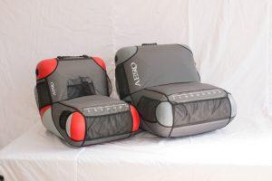 Фото Кресло надувное АЭРО №2 (чехол с карманами, 4 держателя удилищ)