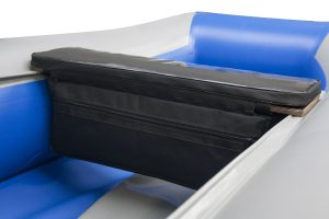 Фото мягкой накладки с сумкой (верх пвх) (80 см)