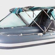 Фото тента ходового на лодку Yukona 310 TSE
